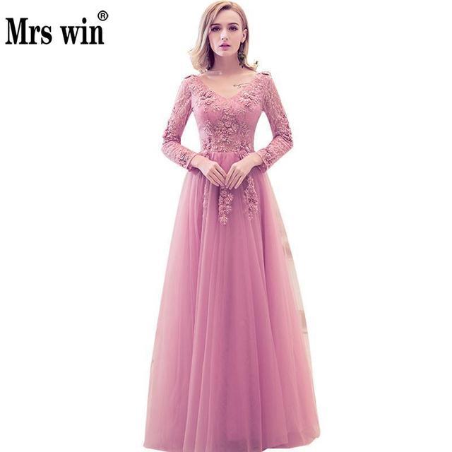 Vestido de noche 2017 el banquete de novia elegante fiesta de lujo ...