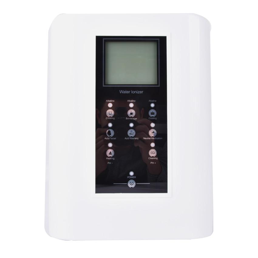 HQ 007B Machine Alkaline Water Ionizer with 3 coating plates Titanium with Platinum multi function water purifier