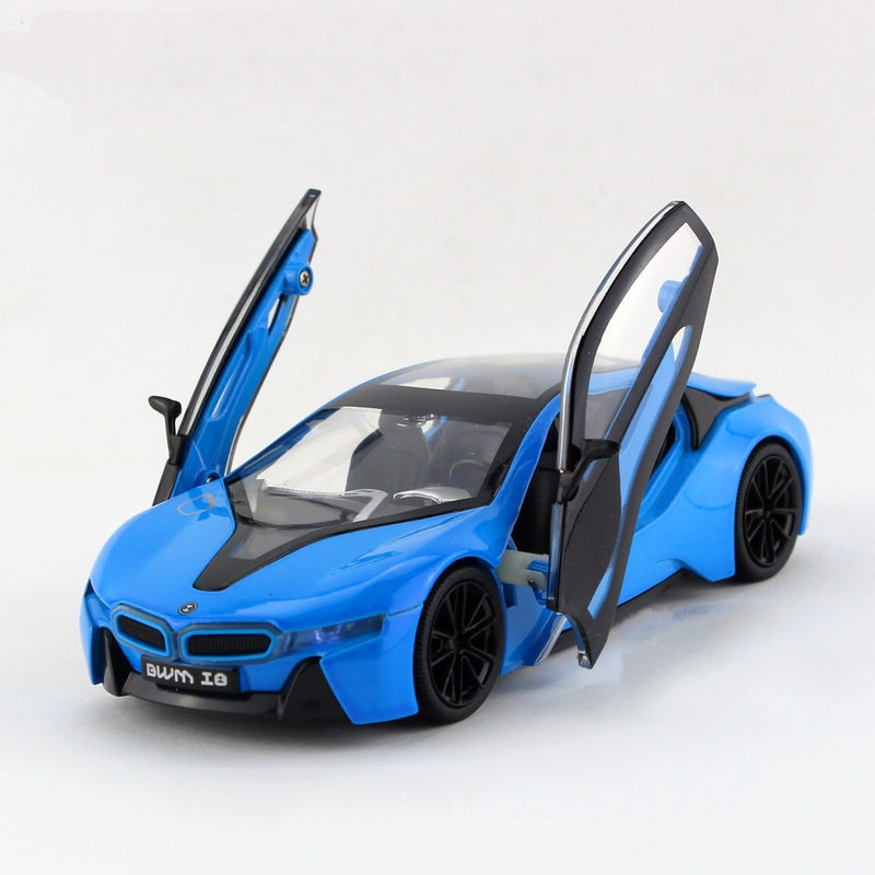 children lights sound caipo i8 concept diecast car model 55inch132 diecasts metal