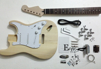Eagle. Butterfly electric guitar, Custom Shop ST metal electric guitar body, neck guitar semi finished product in stock