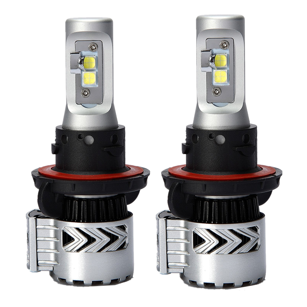 1Pair Car LED Headlight H13 9008 Hi-Lo Beam 72W Fog Driving Running lamp LED Headlights Car High Low Beam Bulb Auto Led Headlamp 12v led light auto headlamp h1 h3 h7 9005 9004 9007 h4 h15 car led headlight bulb 30w high single dual beam white light