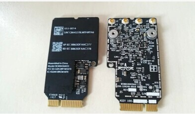 Broadcom BCM4360 BCM94360CD BCM94360CDAX WLAN + BT carte Bluetooth pour apple A1418 A1419 635-0014
