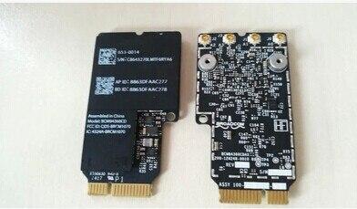Broadcom BCM4360 BCM94360CD BCM94360CDAX WLAN + BT Bluetooth Carte pour apple A1418 A1419 635-0014