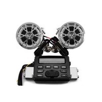 Mini Delicate Motorcycle Audio Support MP3 Play Waterproof MT 723 FM Radio System Amplifier Sound Speaker