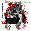 Деревянные пазлы MOMEMO Akatsuki  1000 штук  деревянные пазлы для взрослых и подростков