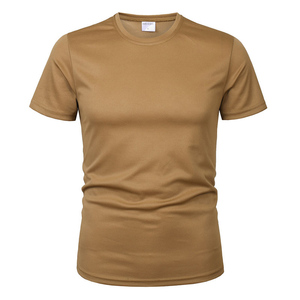 Image 3 - Mege 3 個/2 個男性迷彩、戦術的なtシャツ軍事半袖oをネック速乾性ジムtシャツカジュアル特大 4XL