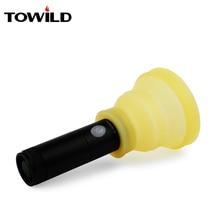 TOWILD Фонари складной рассеиватель и чашки Еда силикона для велосипед Велосипеды свет факела фонарик Открытый Отдых лампы