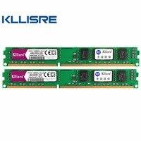 Kllisre DDR3 2pcsX4GB Ram 4GB 1333MHz PC3 10600U 1 5V CL9 240Pin Non ECC Desktop Memory