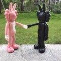 12 inch Kaws Original Fake Accomplice Rabbit PVC Action Figures Medicom Toys With Opp Bag