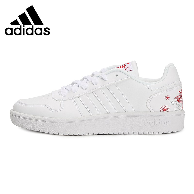 Original New Arrival 2019 Adidas HOOPS 2.0 women's Skateboarding Shoes Sneakers