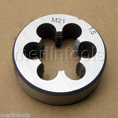 New1pc  Metric Left Hand Die M20 X 1mm Dies Threading Tools 20mm X 1.0mm pitch
