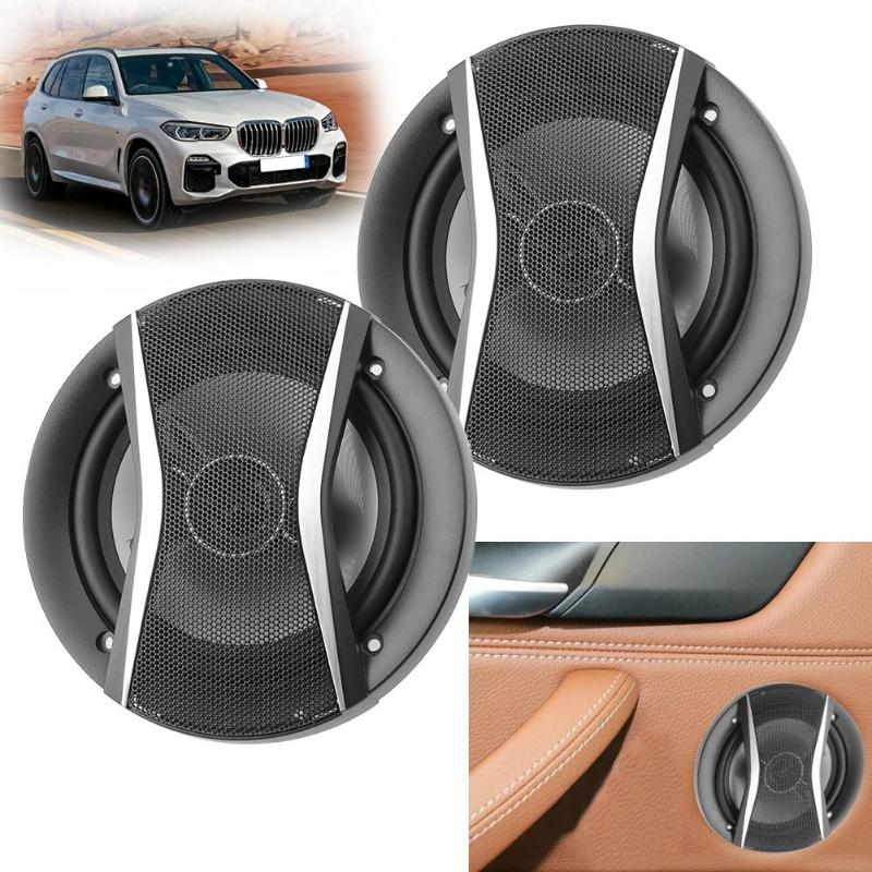 2pcs Universal High Efficiency 650W Car Stereo Coaxial Treble Loudspeakers  Super Power Audio System Speakers Auto Sound