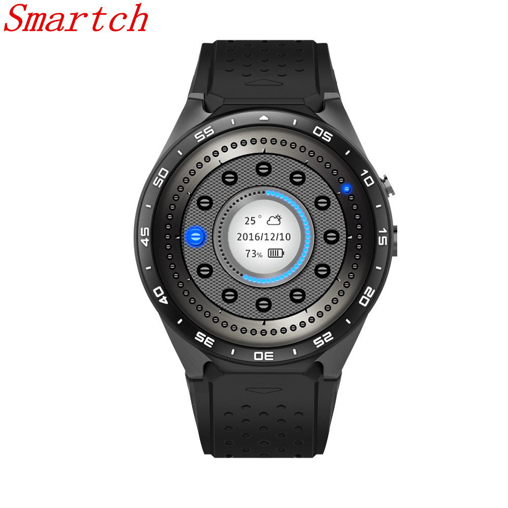 Smartch KW88 Smart watch Android 5.1 MTK6580 CPU 1.39 inch 3G GPS Wifi Smartwatch for Samsung Huawei Phone Watch PK GT88 KW18 bluetooth smart watch as2 s2 smartwatch rotating bezel clock for apple iphone samsung for android huawei lenovo pk kw18 kw88
