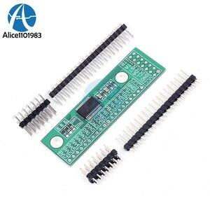 MCP23017 блок питания I2C интерфейс 16 бит модуль расширения ввода/вывода, штыревая панель платы IIC в GIPO конвертер 25mA1 привод для Arduino C51