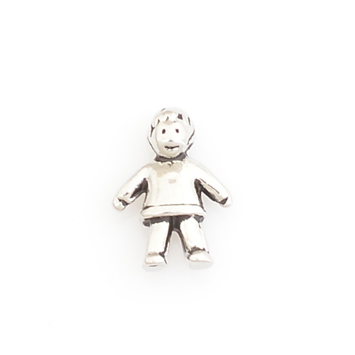 floating boy charms silver lockets item fit locket charm in