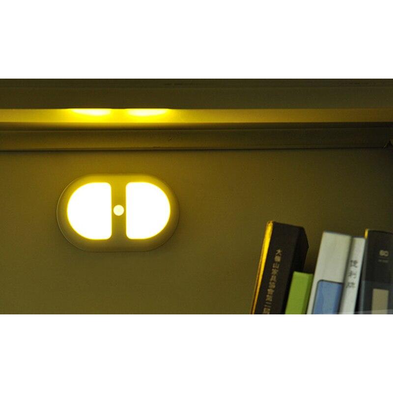 Luzes da Noite de movimento luz da noite Fonte de Luz : Lâmpadas Led