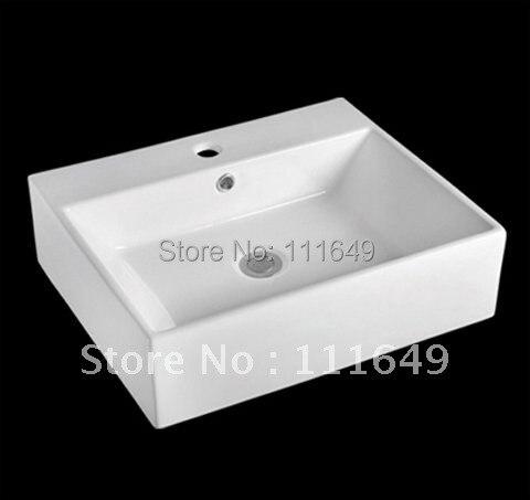 cuarto de bao de cermica sobre encimera rectangular wash lavamanos lavabo cuenca del lavabo cuenca