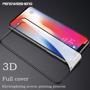 3D Curved Edge Full Cover Screen Protector For iPhone 7 6S 8 PLUS Tempered Glass For iPhone XS MAX XR Protective Glass Film