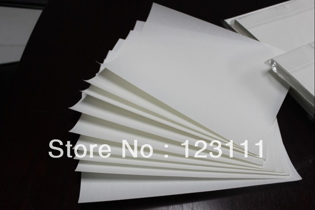 100 sheets A4 heat tansfer paper sublimation paper For Epson R210/R230/R270/4900