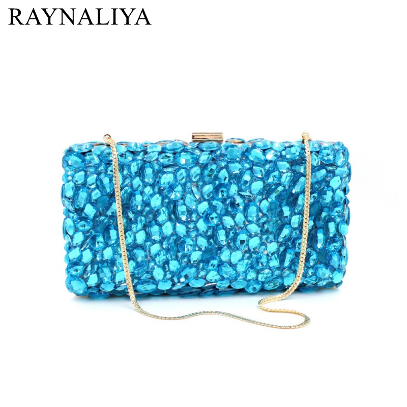 2017 Limited Minaudiere Day Clutches Glass Evening Clutch Bags Factory Rhinestone For Luxury Crystal Women New Bag Smyzh-f0072 women luxury rhinestone clutch beading evening bags ladies crystal wedding purses party bag diamonds minaudiere smyzh e0193