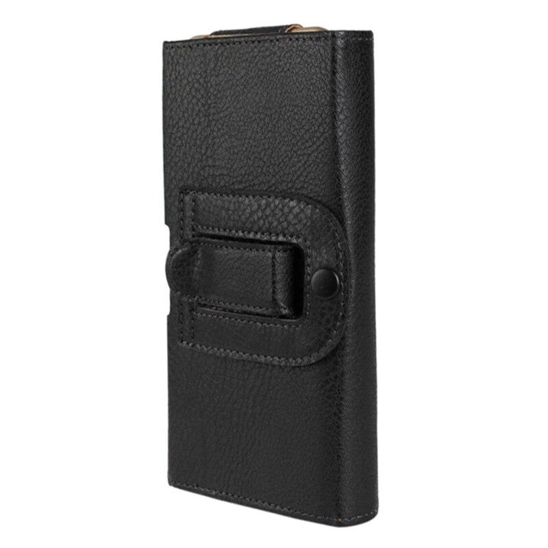Horizontal Sport Sac Téléphone Cas Pour Vivo Y71 Y75 Y79 V7 X9s XPlay Avec Clip Ceinture Holster Taille Poche Couverture En Cuir Coque Capa