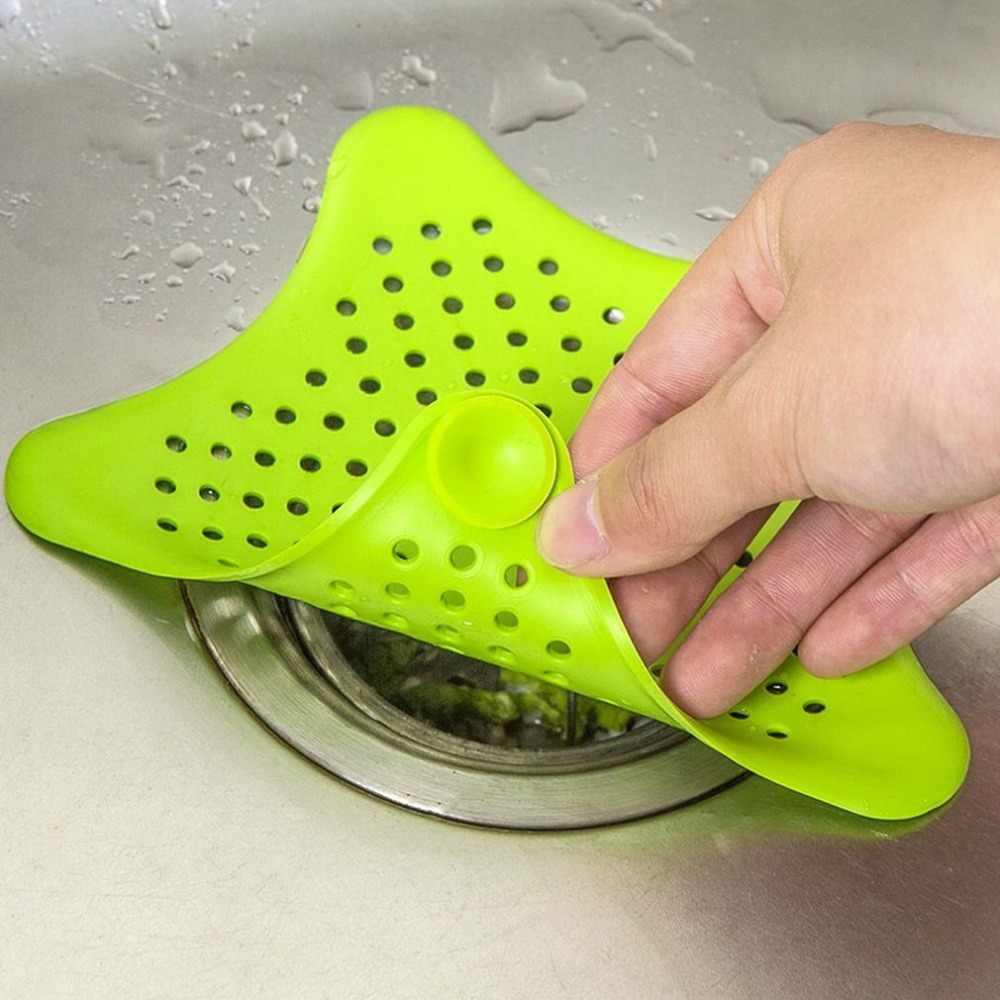 シリコーンシンクフィルター下水道排水髪水切りストレーナー用浴室台所のシンクフィルターヘアストッパーホームクリーニングツールアクセサリー