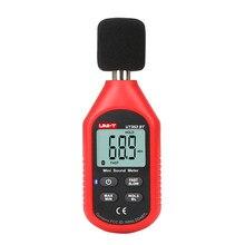 Medidor de nivel de sonido Digital con Bluetooth, medidor de ruido con monitoreo de decibelios, 30-130dB, UNI-T UT353BT