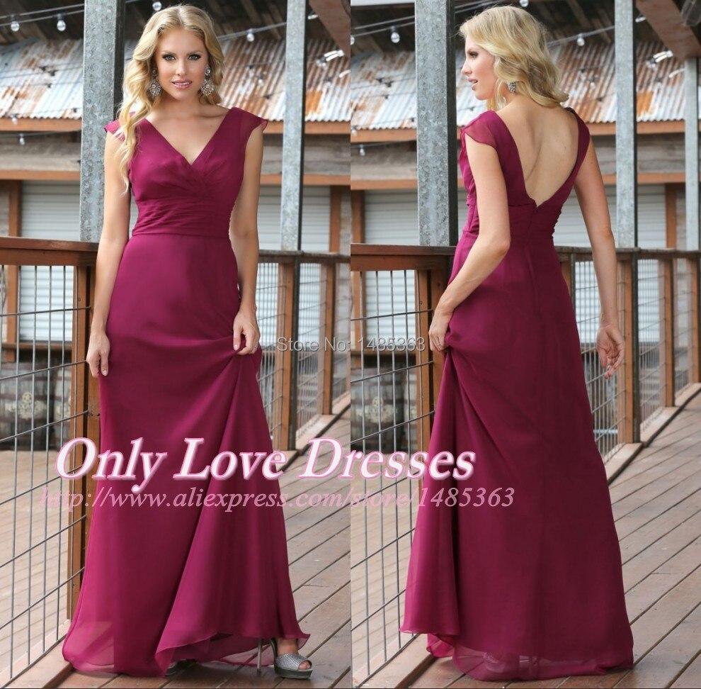 Maroon Wedding Dress