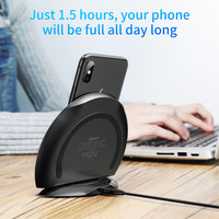 Baseus Fast QI Wireless Charger For IPhone X 8 Plus Samsung S6 S7 Edge S8 Plus