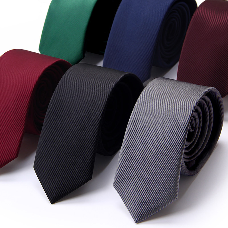 Mens Ties Designers Brands Solid Striped Casual 6cm Slim Ties For Men England Wedding Male Necktie High Quality Gift BOX Pack