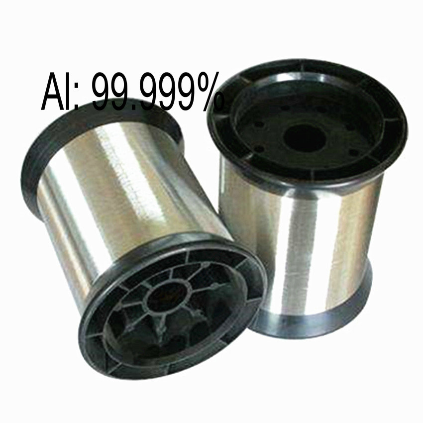 Aluminium Wire 4N Al High Purity 99.99% for Research and Development Element Metal Diameter 0.1 0.2 0.3mm Length 1/2/3 MeterAluminium Wire 4N Al High Purity 99.99% for Research and Development Element Metal Diameter 0.1 0.2 0.3mm Length 1/2/3 Meter