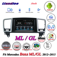 Liandlee системы Android для Mercedes Benz MB M GLE ML W166 63 250 350 400 500 550 GPS Navi навигации TV BT Carplay мультимедиа