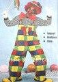 Косплей взрослых партия Клоун костюм включая Брюки + Одежда + Шляпа + Перчатки + Галстук