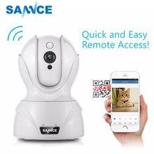 Sannce 720 p wifi câmera de segurança ip câmera 1.0mp sem fio wi-fi de áudio monitor do bebê vigilância em casa hd mini câmera cctv