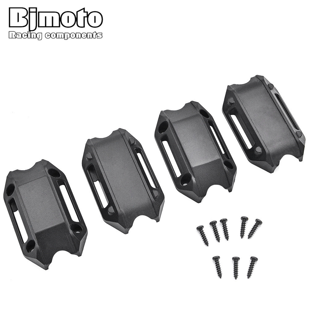 BJMOTO Motorcycle Engine Protection Bumper Decorative Block Dismantling Installation 25mm For BMW R1200GS LC ADV F700GS F800GS