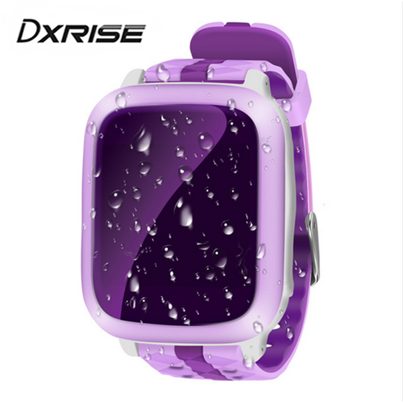DS18 Smart phone Watch kids Children baby GPS WiFi Locator Tracker SOS Call SMS Support SIM