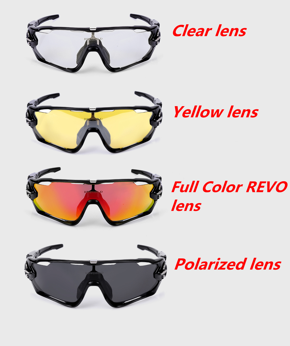bc2af0afd68 2019 JBR Cycling SunGlasses Mountain Bike Goggles 4 Lens Cycling ...