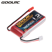 GoolRC RC Battery 2S 7.4V 1200mAh 25C Li-Po Battery with JST Plug for RC Quadcopter Multicopter Cars RC Drone Parts
