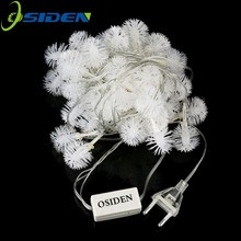 OSIDEN LED Strings Snowball led 50LED 9M Christmas Light /Wedding/Party Decoration String Lights AC110V/220V Outdoor waterproof