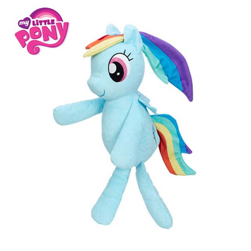 56CM/22Inch Hasbro My Little Pony Toy Stuffed Plush Doll Movie&TV Pillow&Cushion Plush Friendship Is Magic For Children Present