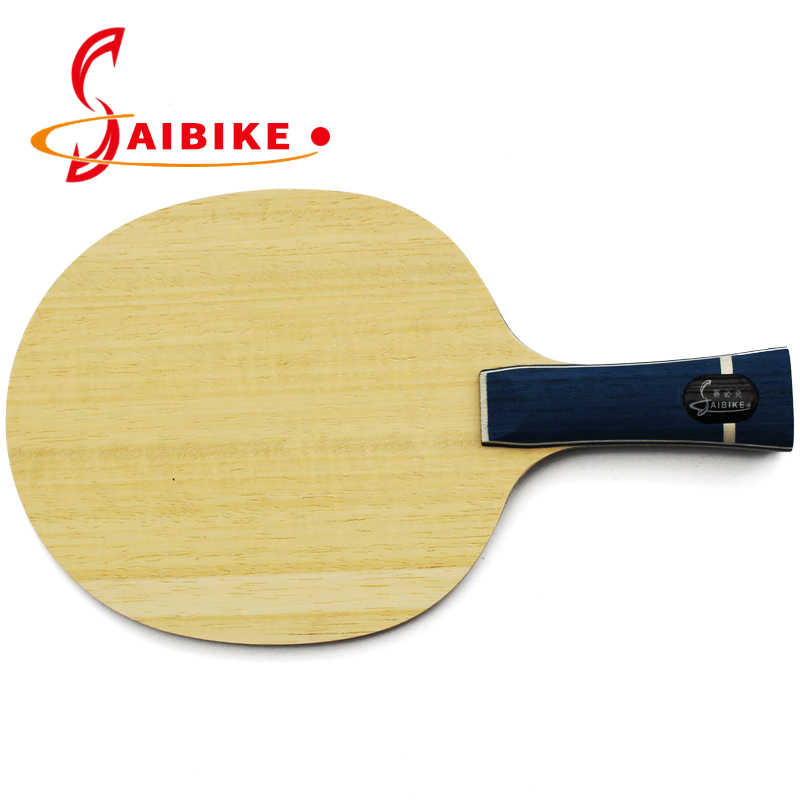 Saibike Carbon table tennis racket table tennis blade ping pong bats long handle FL