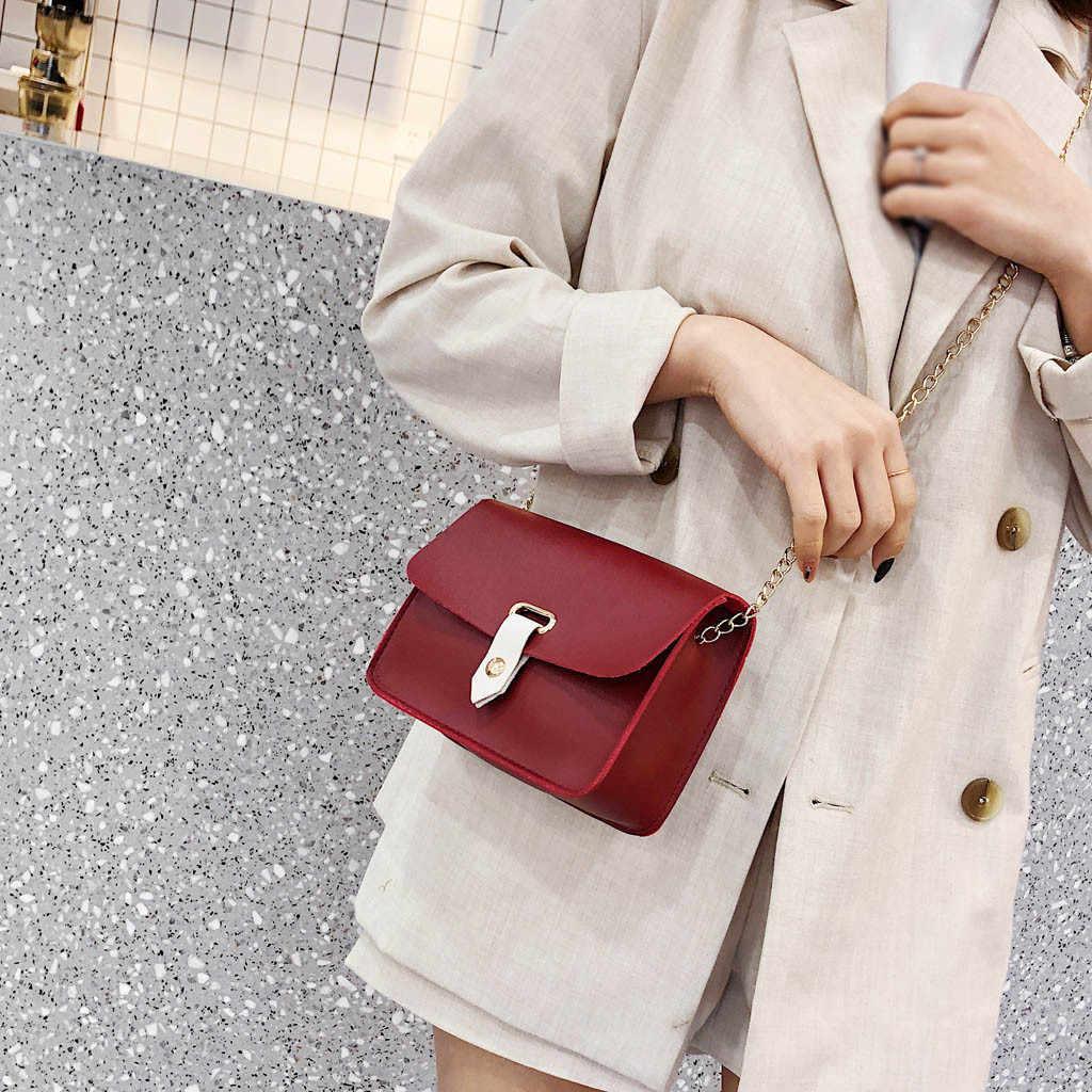 נשים של אופנה פשוט כתף שליח תיק פראי מזדמן קטן כיכר תיק כתף תיק קטן דש Crossbody שקיות עבור נשים