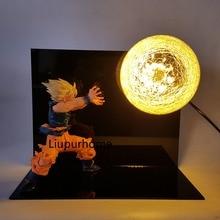 Dragon Ball Son Goku Kamehameha Table Lamp LED Lighting Decorative Dragon Ball Z Lamp Night Lights For Christmas Gift
