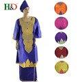 Африканская женщина одежда Африка Riche базен платье для женщин Африканских традиционных вышитые одежды Базен африканских одежды женщин