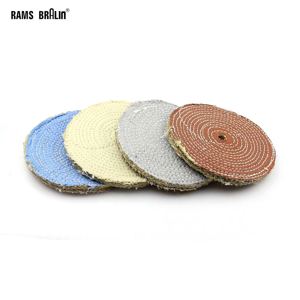 1 Piece Sisal Fiber Buffing Wheel For Metal Plastic Scratches Removal