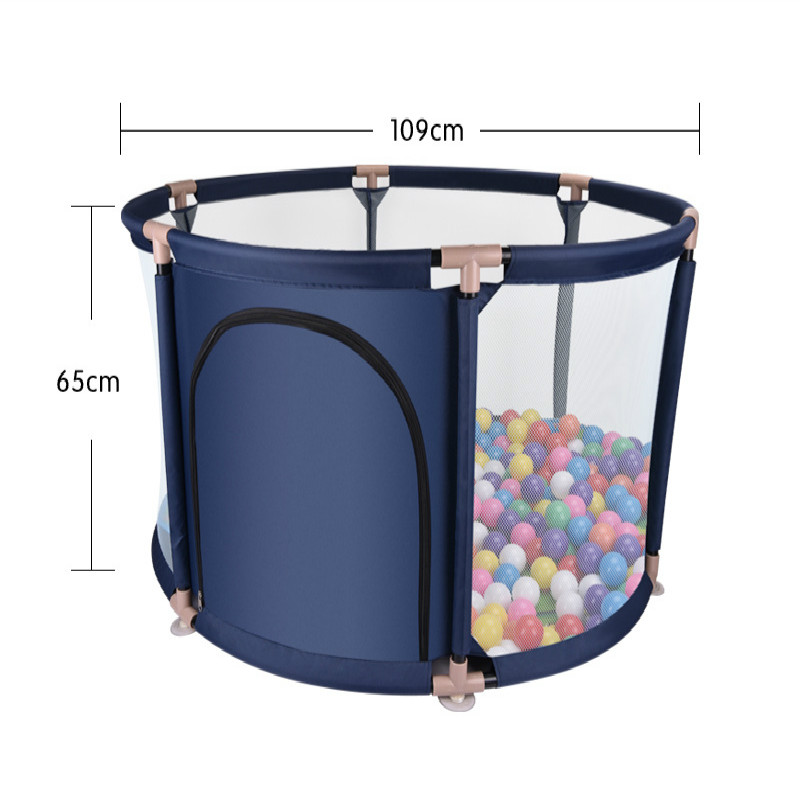 65cm high baby playpen childs fencing baby safety plastic fence baby crawling fence with marine ball