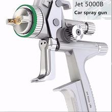 Jet 5000B High spraying efficiency Gravity air spray gun 1.3mm HVLP pneumatic spray gun car spray paint gun