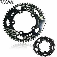 VXM 110BCD 50/35T 700C Road Bike Bicylcle 7075 T6 Alloy Oval Chainwheel Kit Ultralight Ellipse Climbing Power Chain Plate Set
