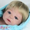 NPKDOLL 55 см Мягкие Силиконовые Возрождается Куклы Реалистичные Куклы 22 дюймов Полный Винил Reborn Ребенка Возрождаются Куклы Для Продажи Boneca Girls Toys