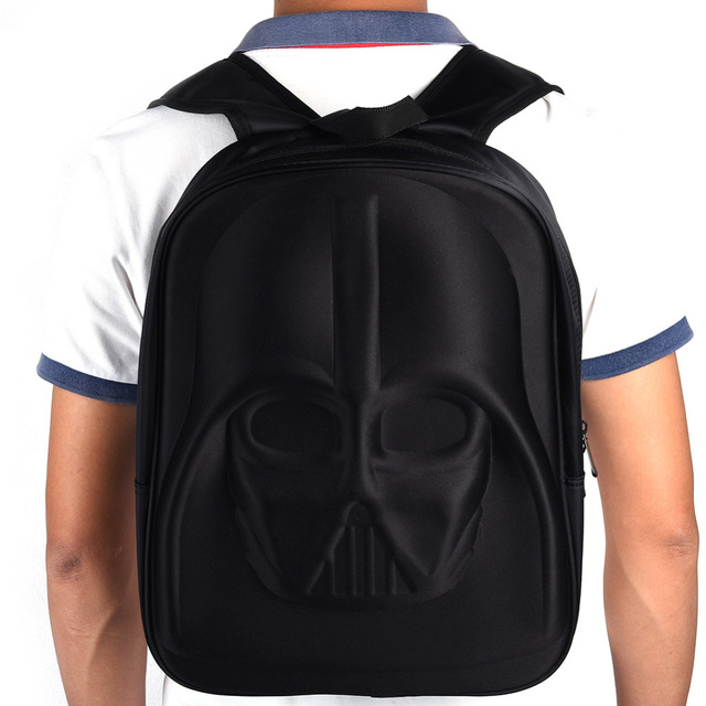 Star Wars Backpack – 3D Darth Vader